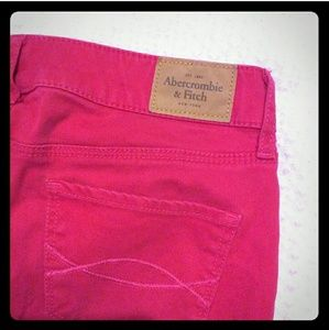 Abercrombie brushed denim jeans